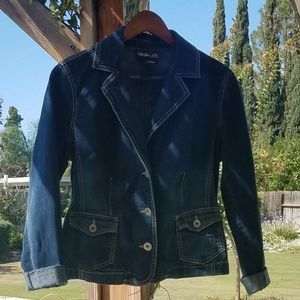 Style & Co Petite Denim Jacket